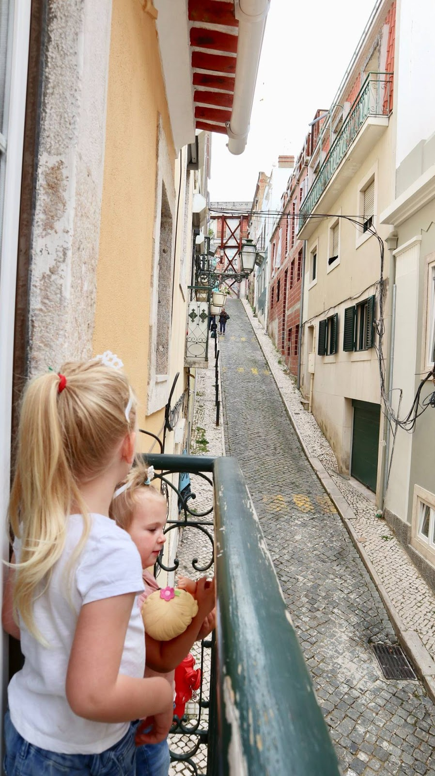 Lisbon sight seeing with kids
