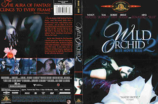 Caratula dvd: Piernas de terciopelo (Orquídea salvaje 2) (1991)
