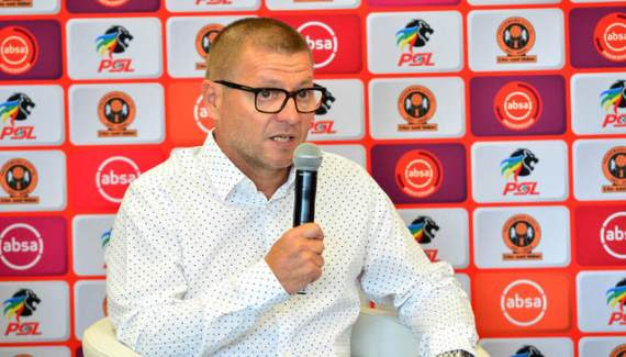 Polokwane City coach Jozef Vukusic