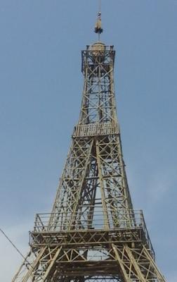 Menara Eifel di tasikmalaya