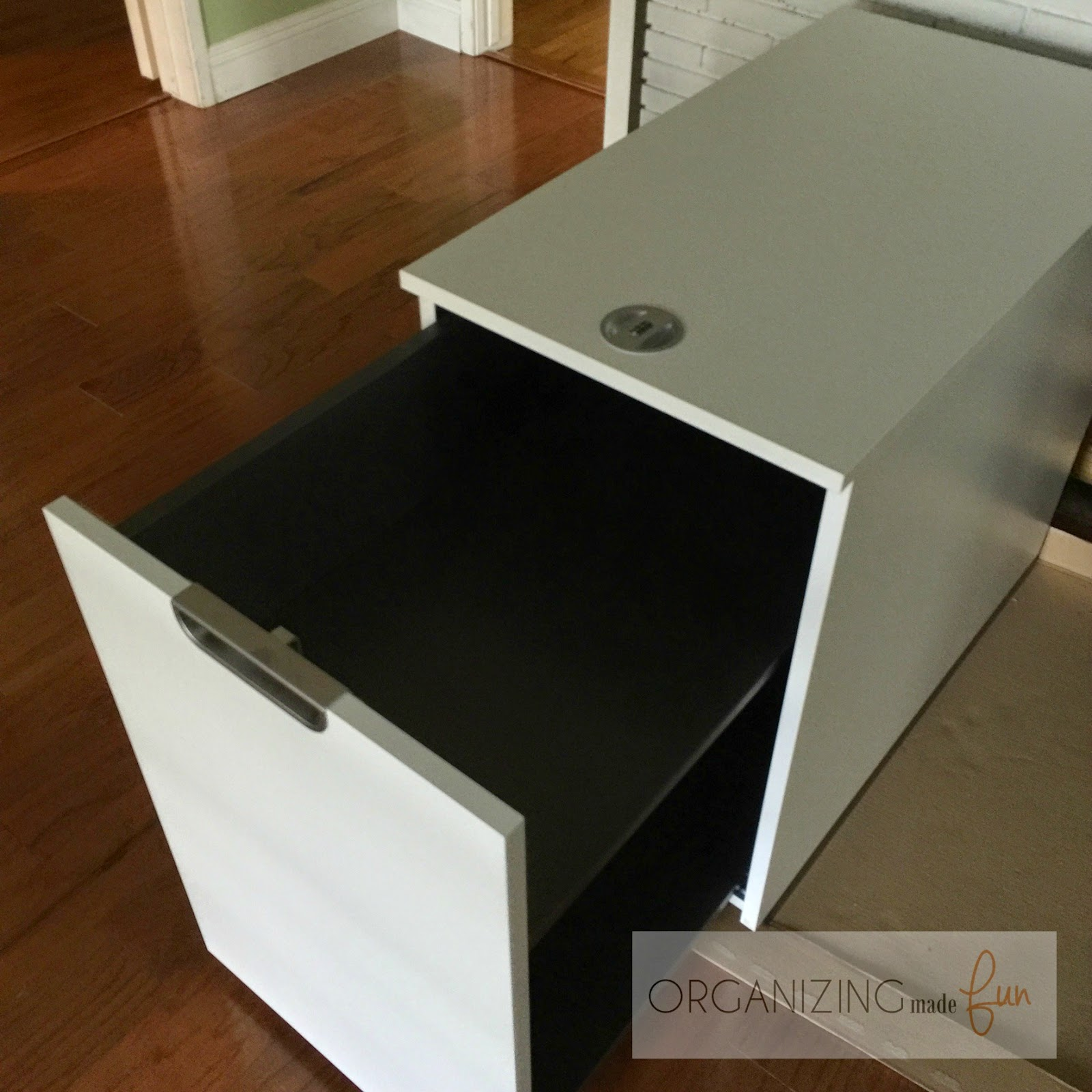 The Galant Series Printer Cabinet :: OrganizingMadeFun.com