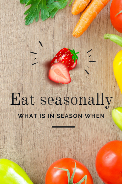 Eat seasnally - what is in  season when