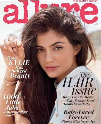 Kylie Jenner covers Allure magazine, talks about how her online life