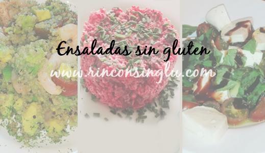 receta de ensaladas sin gluten