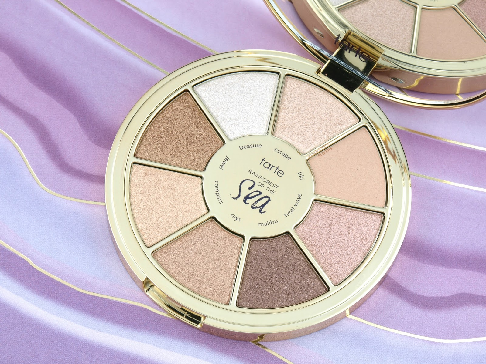 Tarte Rainforest of the Sea Volume III Eyeshadow Palette: Review and Swatches