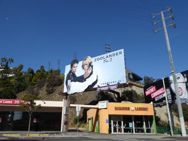 Zoolander 2 selfie billboard