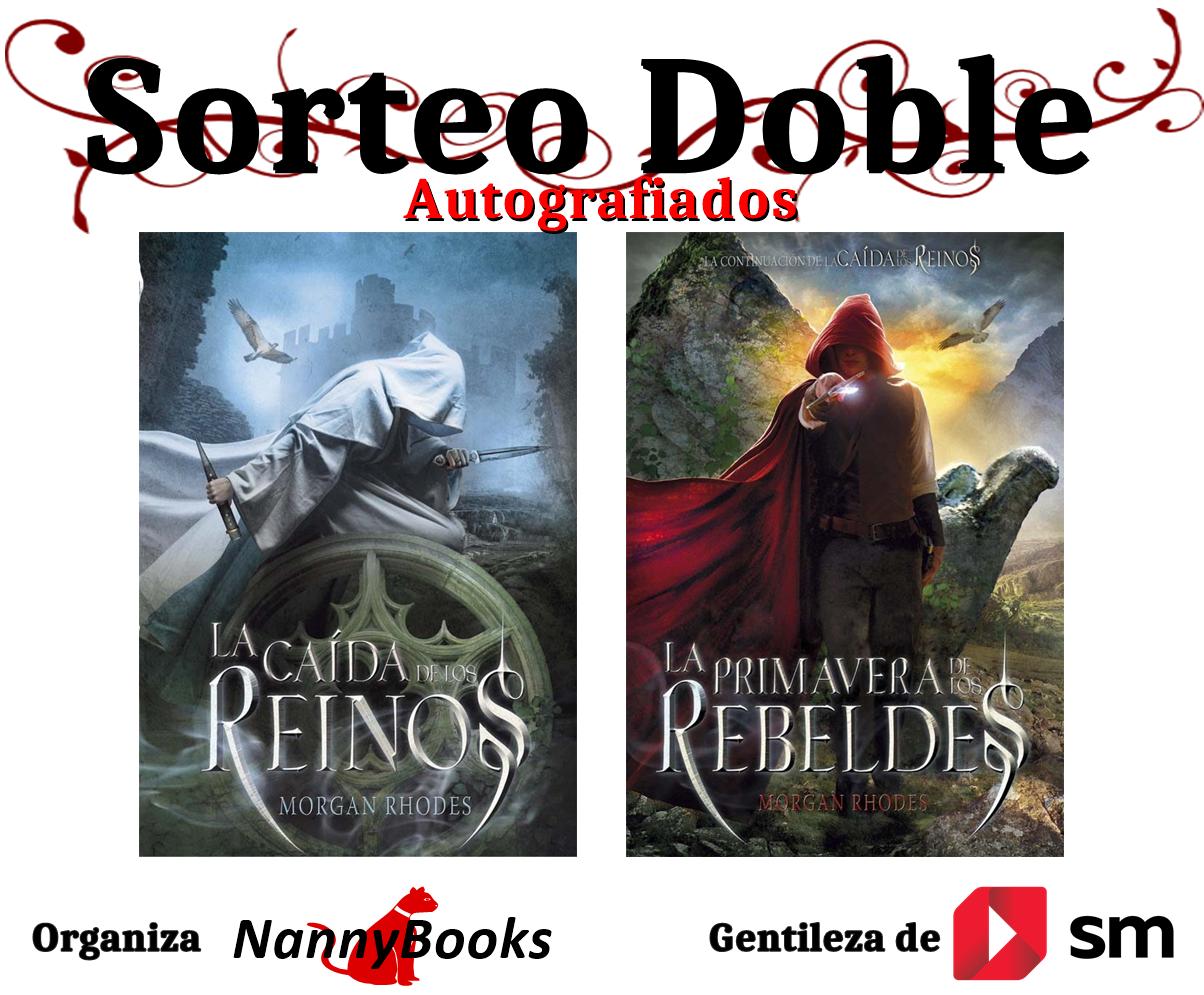 En esta oportunidad les traigo las novelas La caída de los reinos y La  primavera de los rebeldes, ambos autografiados por la autora Morgan Rhodes,  ...