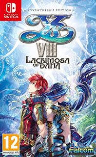 Ys VIII : Lacrimosa of Dana Switch XCI NSP