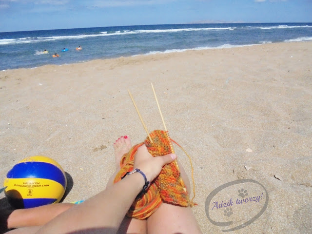 Adzik plaża rękodzieło