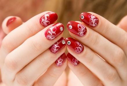 a mi manera: diseños y modelos de uñas - bonita decoración