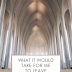 What it would take for me to leave Christianity | Honest Answer