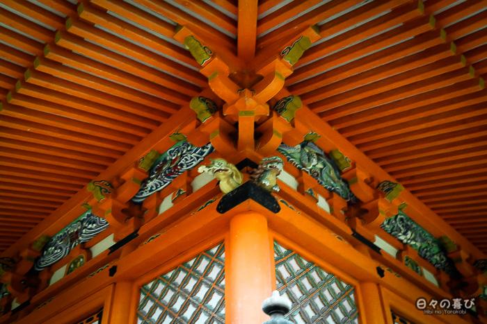 Pagode, détails, temple Mitaki-dera, Hiroshima