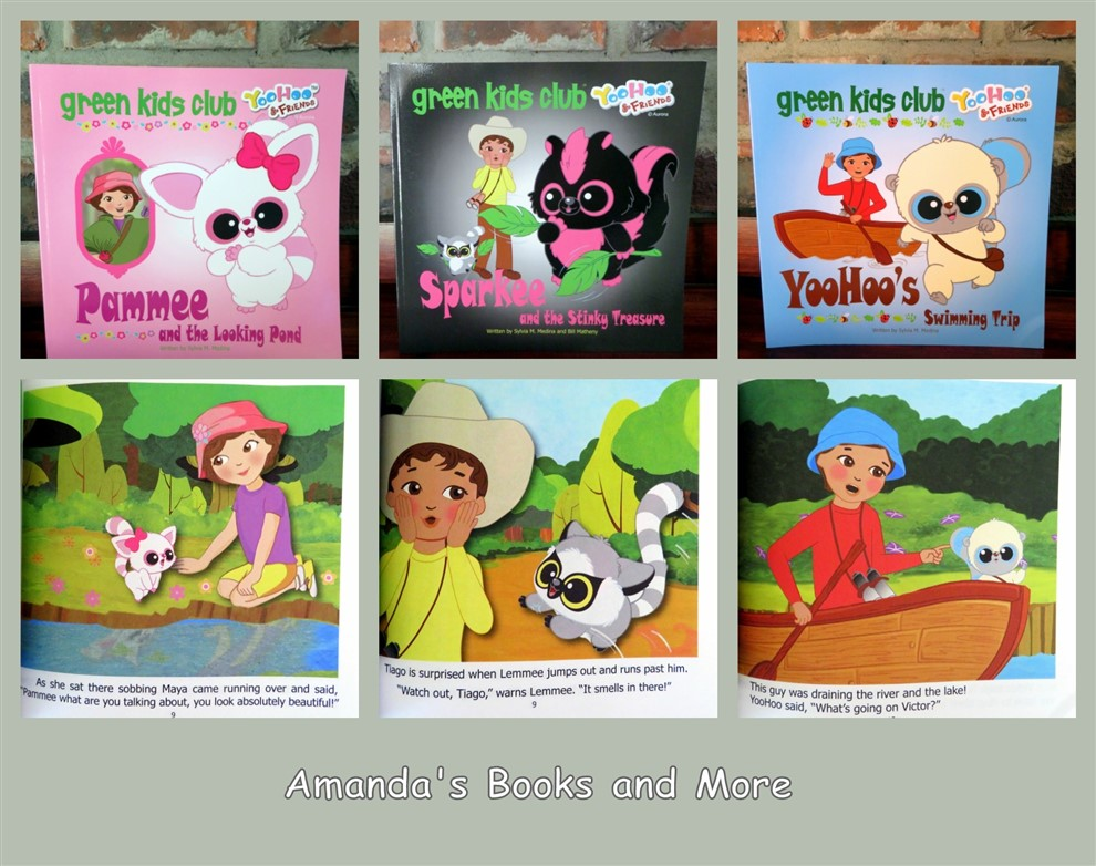 YooHoo and Friends from the Green Kids Club ~ Amanda's Books