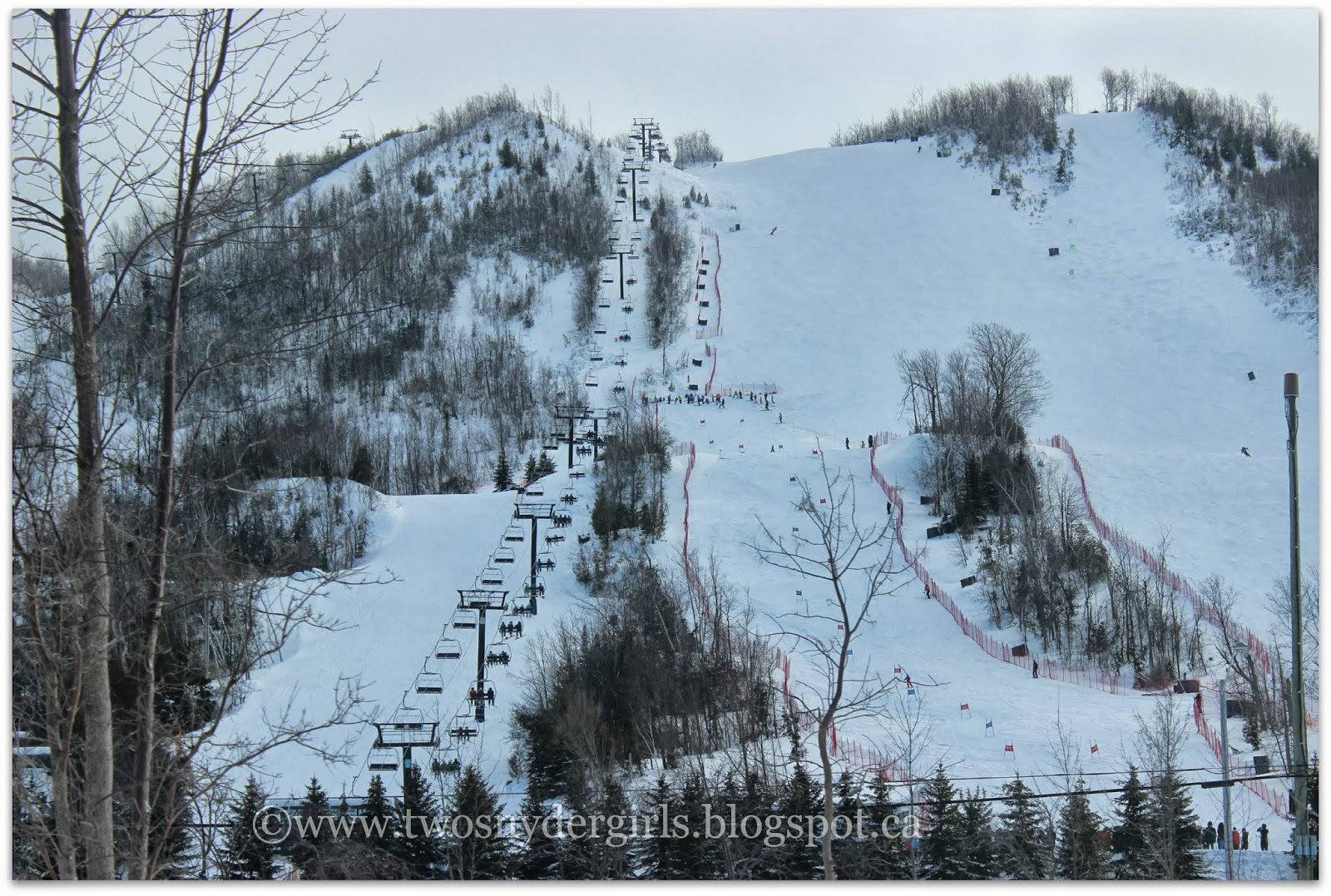 Blue Mountain Ski Hill, Collingwood Ontario