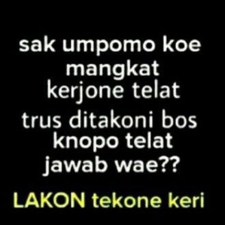 Meme Lucu Bahasa Jawa Kasar Humor Lucu Banget