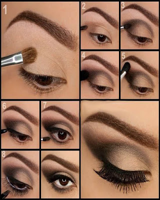 elegant makeup for events in the day