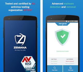 تطبيقZemana Antivirus 2019 premuim: Anti-Malware & Web Security  للتحميل مجانا برابط مباشر