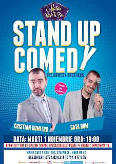 Stand-Up Comedy Marti 1 Noiembrie Bucuresti