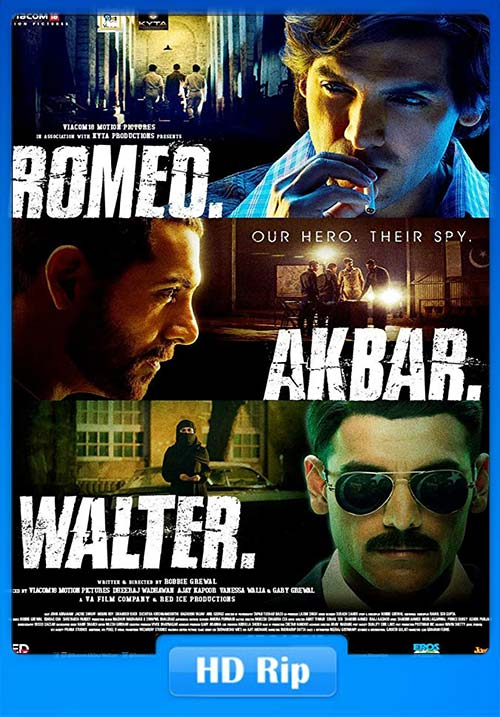 Romeo Akbar Walter 2019 Hindi 720p pDVDRip | 480p 300MB | 100MB HEVC
