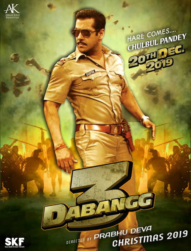 Dabangg 3 2019 Hindi Movie SALMAN KHAN HDTSRip 800MB