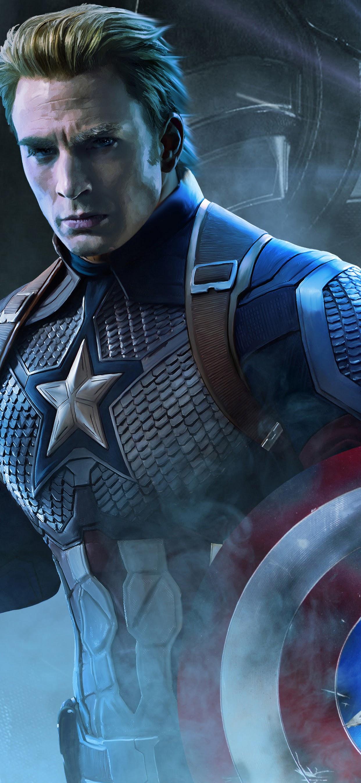 Avengers Endgame Captain America 4k Wallpaper 18