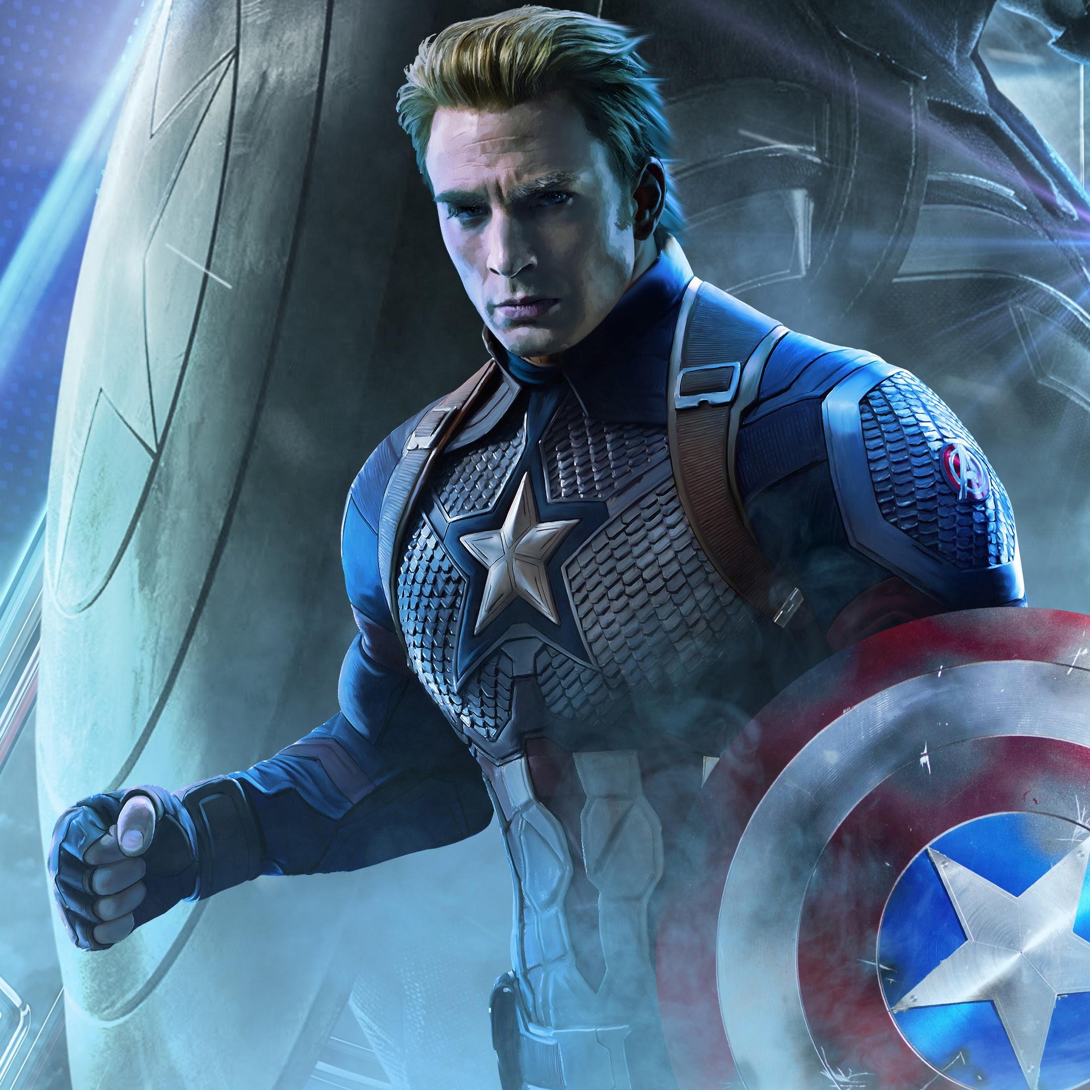 Avengers Endgame Captain America 4k 18 Wallpaper
