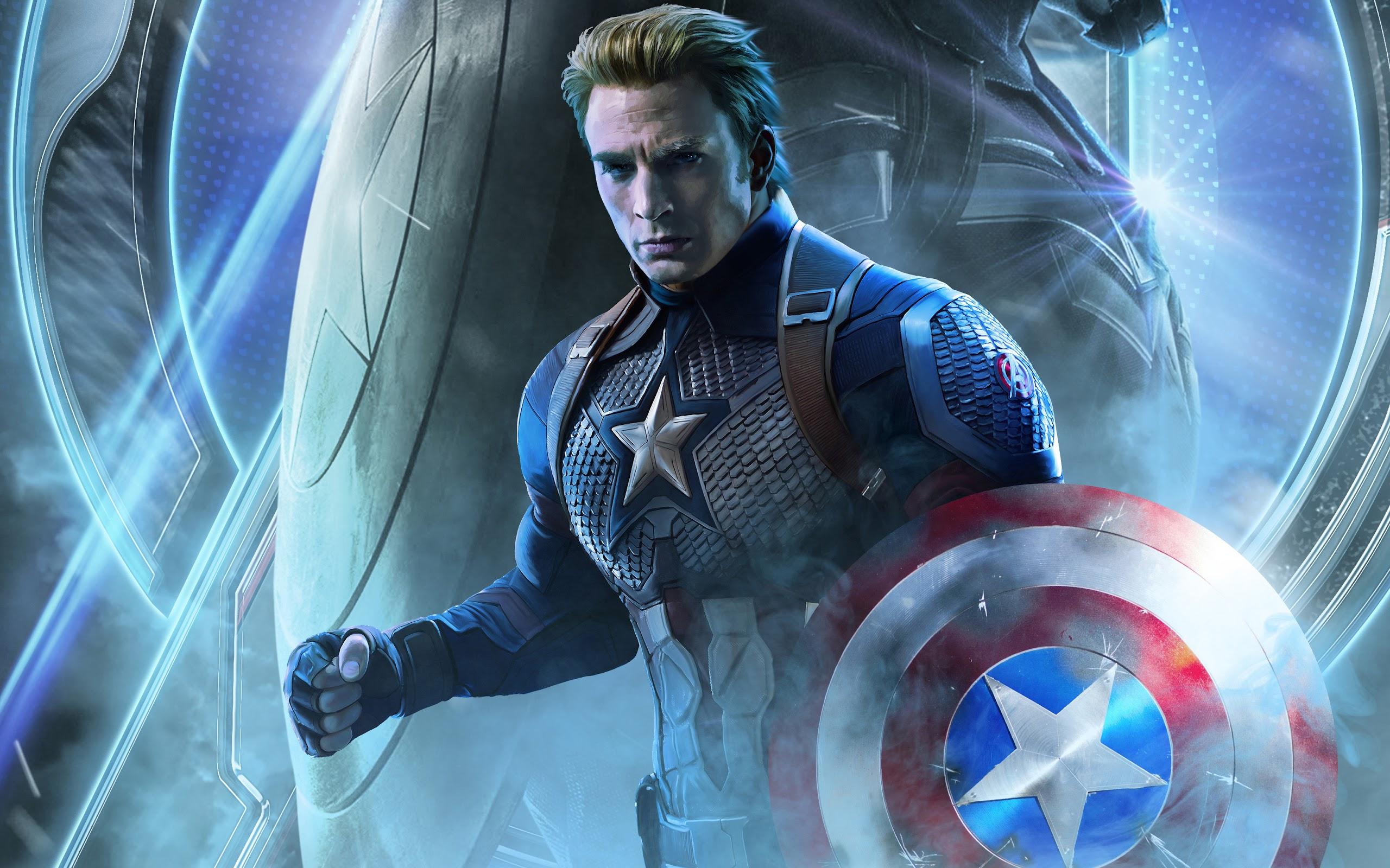 Avengers: Endgame, Captain America, 4K, #18 Wallpaper