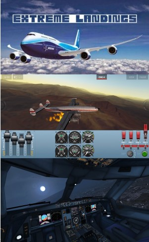 Extreme Landings Pro Apk Mod Unlimited Money v3.5.6 Terbaru