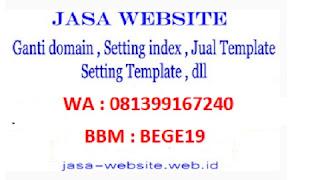 jasa ganti/pasang domain