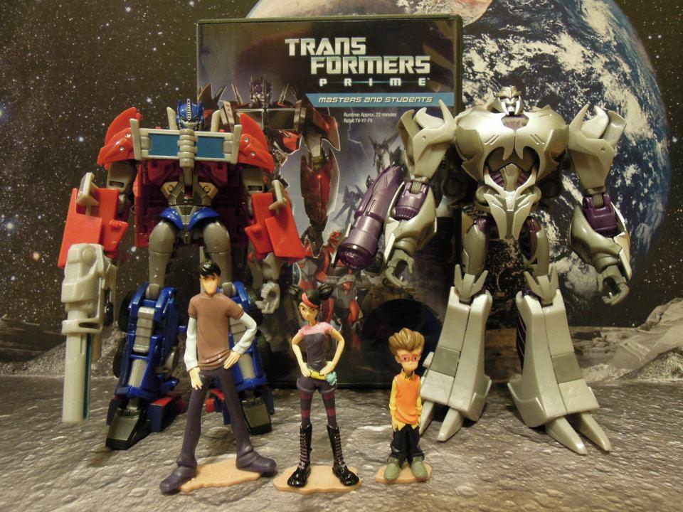 Blog de Transformers de mdverde: Transformers Prime primera