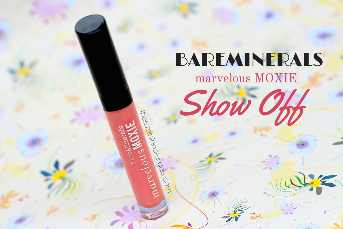 bareMinerals Marvelous Moxie in 'Show Off'