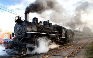 Kereta api uap memanfaatkan prinsip termodinamika