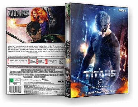 CAPA DVD – Titans – 1ª Temporada Completa 3 Discos – ISO