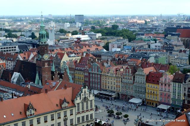 Wrocław z dzieckiem- spacerkiem po mieście