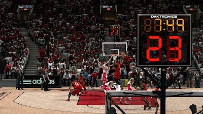 NBA 2K13 New Court Shot Clock Texture