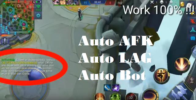 Opponent script Auto Lag / Afk / Bot + Auto Win Mobile Legends