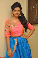 Nithya Shetty in Orange Choli at Kalamandir Foundation 7th anniversary Celebrations ~  Actress Galleries 034.JPG