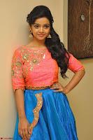 Nithya Shetty in Orange Choli at Kalamandir Foundation 7th anniversary Celebrations ~  Actress Galleries 034.JPG