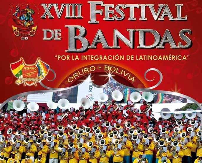 【En Vivo 】Festival de Bandas Oruro 2019