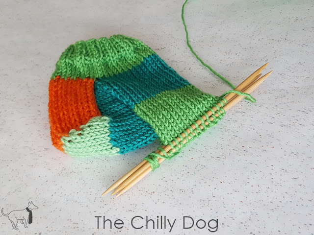 Learn how to safely store your knitting on DPNs so the needles don't slip out