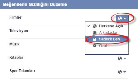 Facebook'ta Sayfa Beğenilerini Gizleme Nasıl Yapılır?