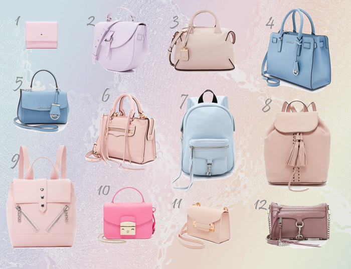 SPRING SUMMER BAGS IN PASTEL COLORS  9bd92478e7ea2