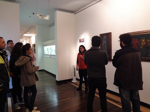 コロンビア国立博物館のスペイン語ガイド
