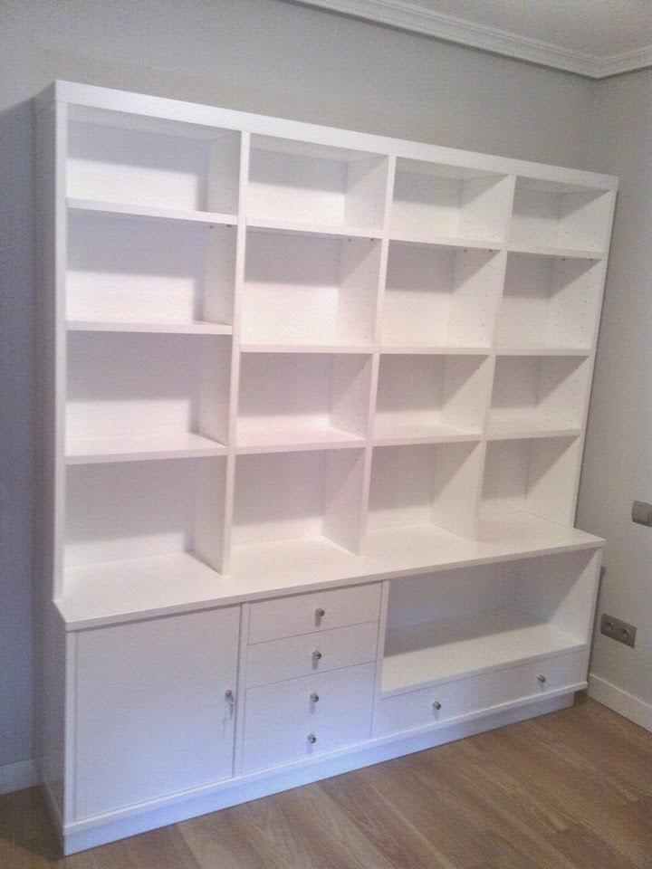 Librer as a medida en madrid muebles de madera fabritecma for Muebles a medida madrid