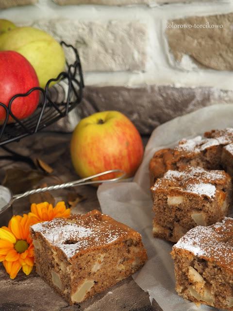 ciasto-orzechowo-jabłkowe