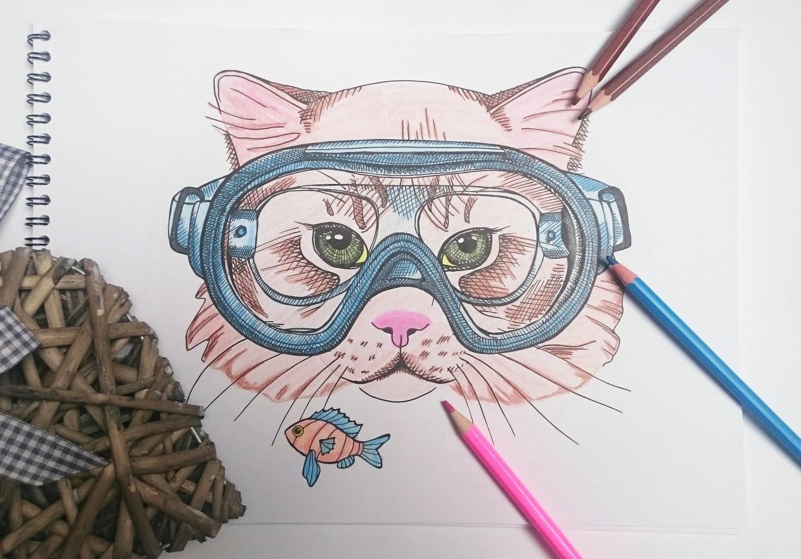 Zakrecony Swiat Marty Crazy Drawings Najlepsze Kolorowanki Antystresowe