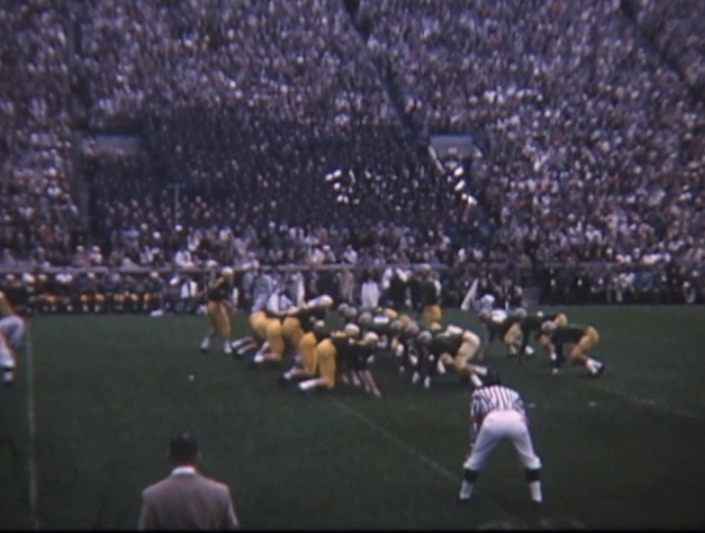 11 Oct  1958: John Hickey's Color Movie of the Army at Notre