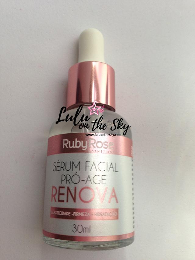 Sérum Facial Pró Age Renova - Ruby Rose Cosméticos