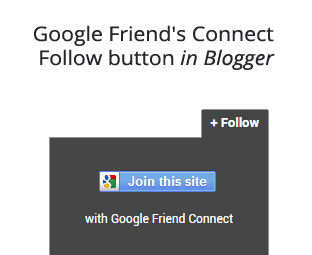 How to add Slideout Google Friend's Connect Follow button in Blogger