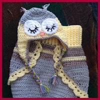 Cocoon búho a crochet